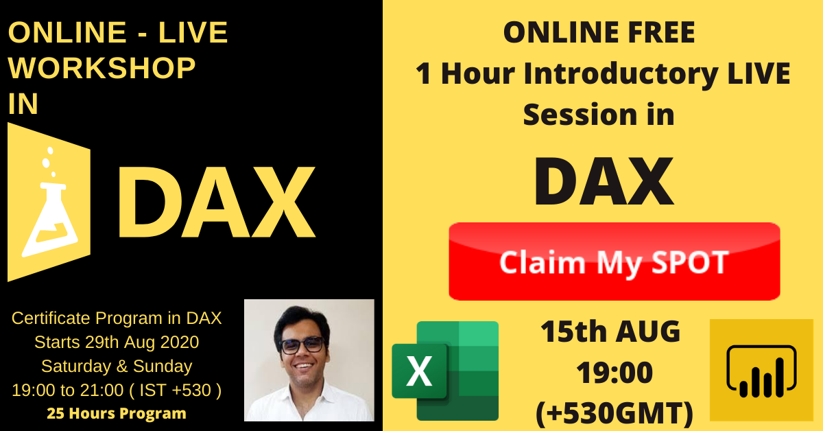 Power Bi DAX Program